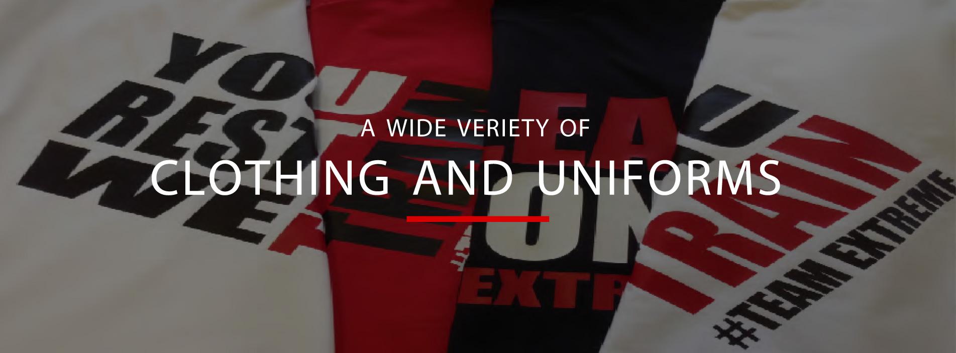 printed uniforms edinburgh
