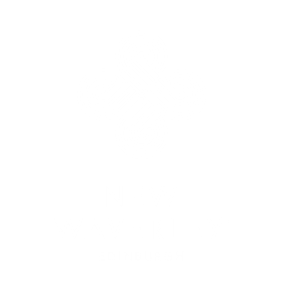 New Waverley signage print edinburgh