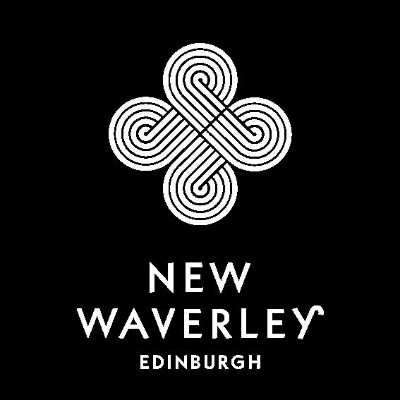 New Waverley signage print edinburgh