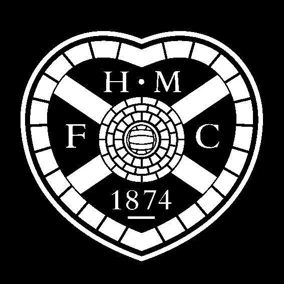 Hearts Football Club signage edinburgh